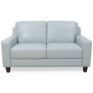 Futura Leather 8689 Leather Loveseat