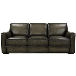 Futura Leather 8944 Transitional Sofa