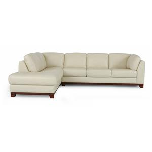 Dante Leather 9514 Sectional Sofa