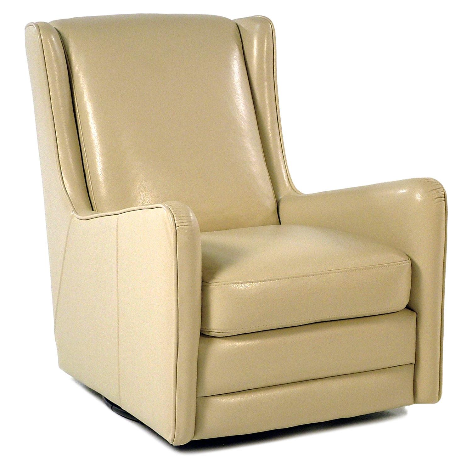 Loft Leather Ally Swivel Chair - Item Number: W1076-91