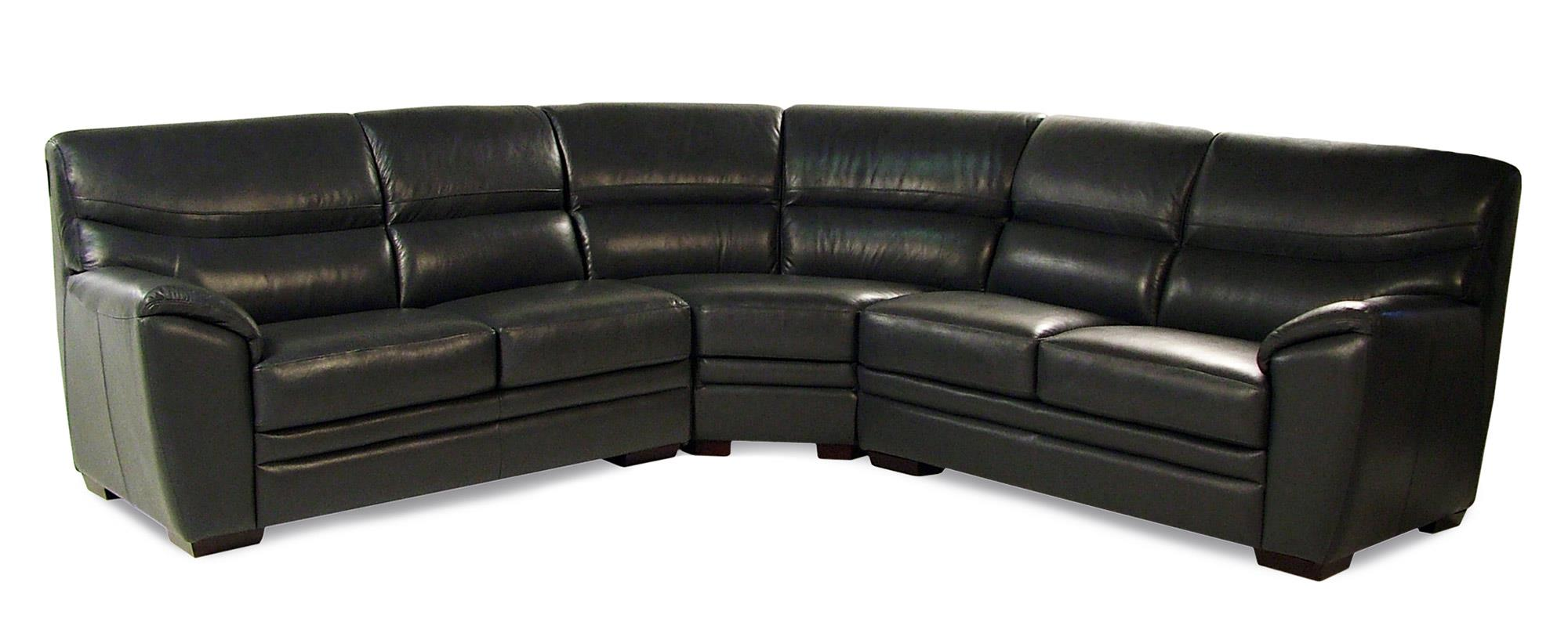 Loft Leather Arabesque 3-Piece Leather Sectional - Item Number: 8942-3PC-SECT
