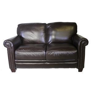 Futura Leather 7888 Leather Loveseat