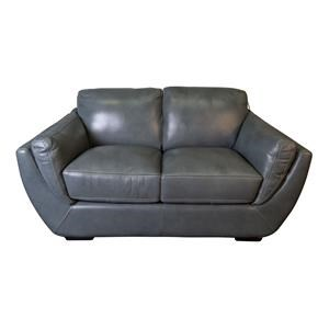 Damarco Top Grain Leather Loveseat