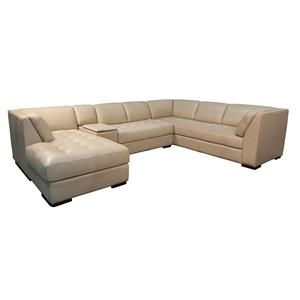 Damarius Sectional with Right Arm Facing Cha