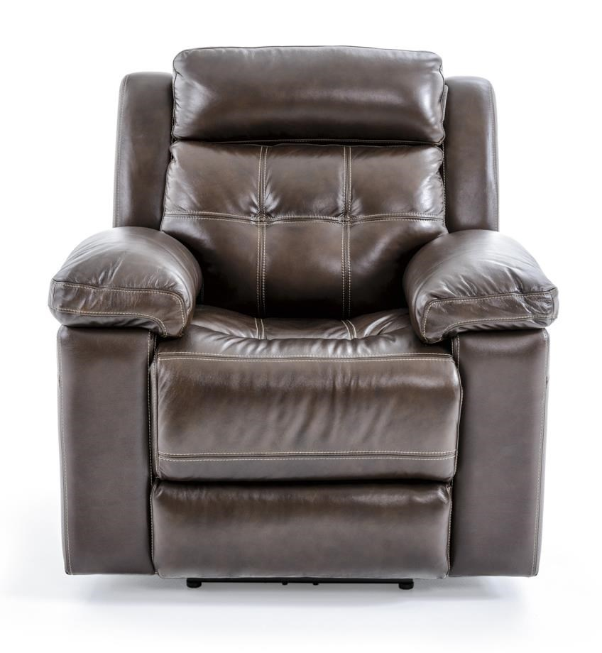 Futura Leather E1267 Electric Recliner - Item Number: E1267-319 1148H ARCH DAVEN