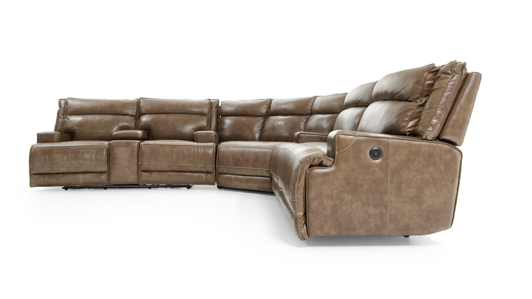 - Futura Sectional Leather Sofa.Futura Leather E E1270 1421H