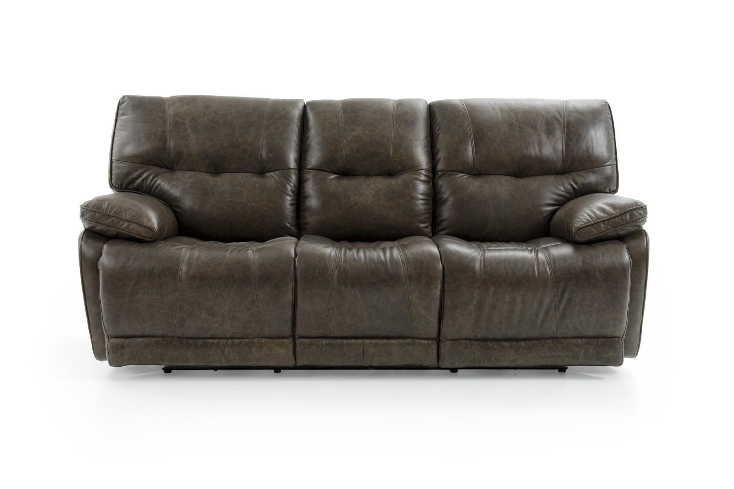 Futura Leather E1288 Electric Motion Sofa - Item Number: E1288-317 2185H