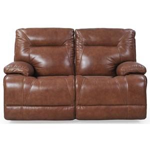 Futura Leather E1298 Electric Motion Loveseat