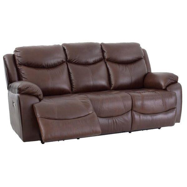 Futura Leather E1307 Reclining Sofa Item Number E1307s Davenport Archer