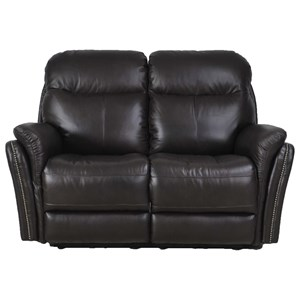 Futura Leather E1309 Electric Motion Loveseat