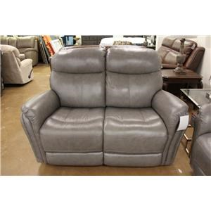 Leather Manual Reclining Loveseat