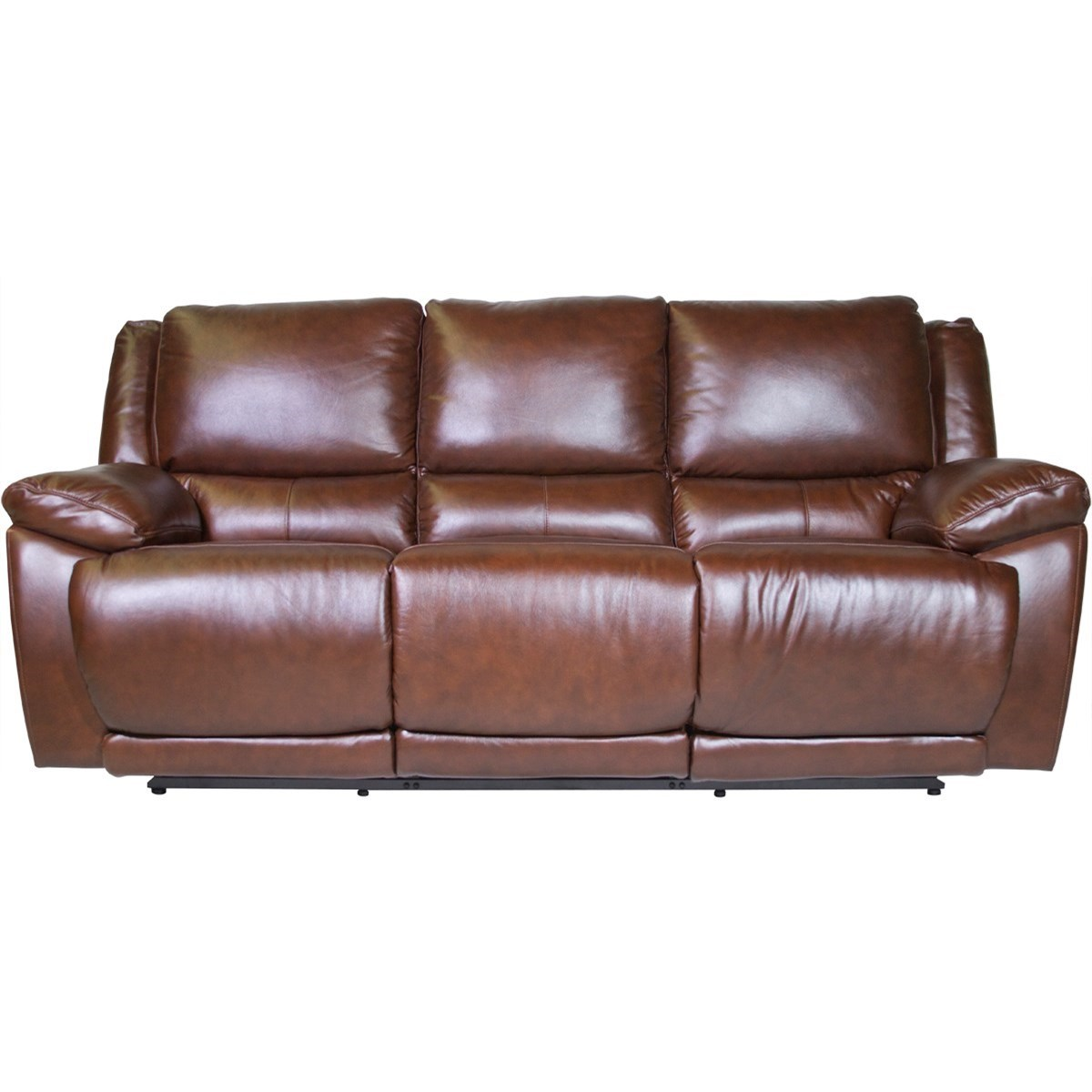 Futura Leather Curtis Power Reclining Sofa - Item Number: E1358-317-1148H