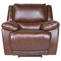 Futura Leather Curtis Power Recliner - Item Number: E1358-319-1148H
