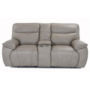 Console Sofa with Power Reclining Seats