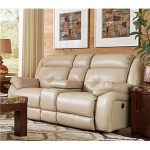 Futura Leather E771 Electric Motion Loveseat