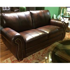 Futura Leather Futura Leather Leather Loveseat