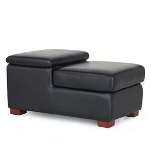 Futura Leather G163 Leather Storage Ottoman
