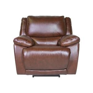 Huntley Leather Match Power Recliner
