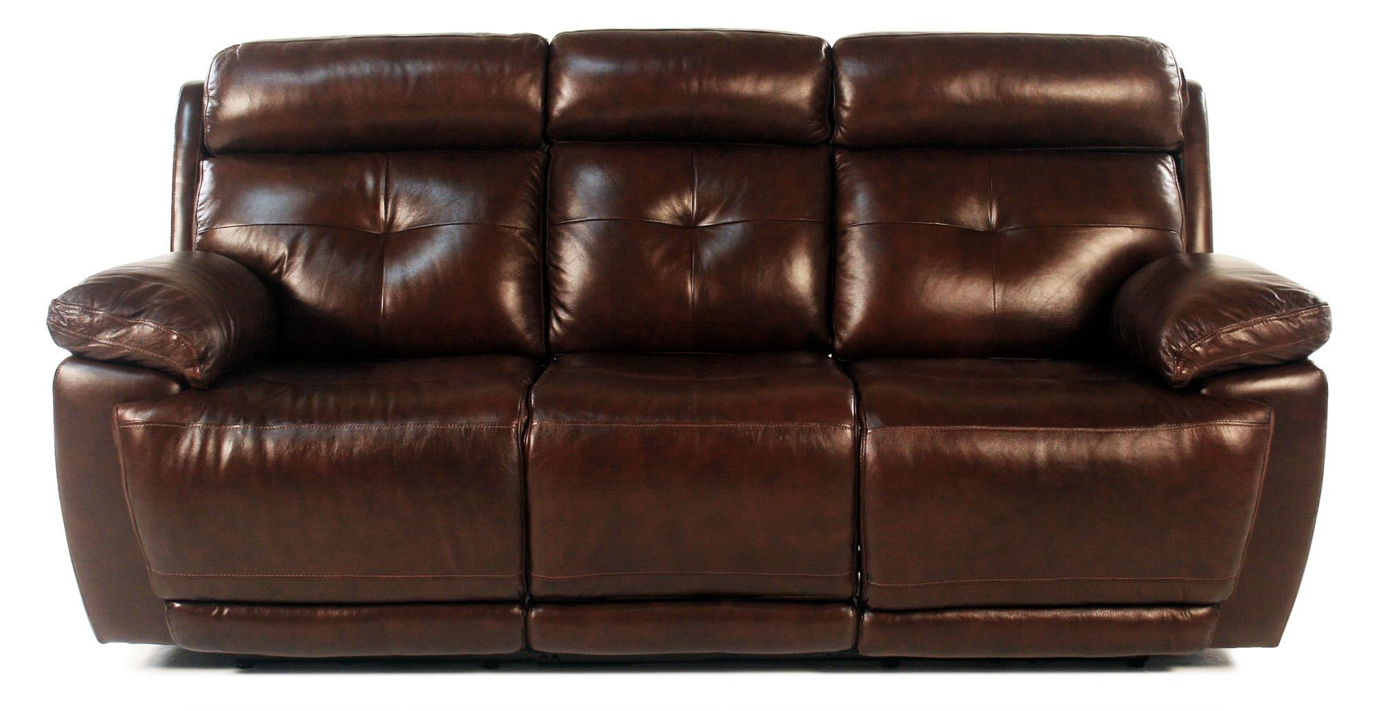 Loft Leather Jasper Power Reclining Leather Sofa - Item Number: E1268-317