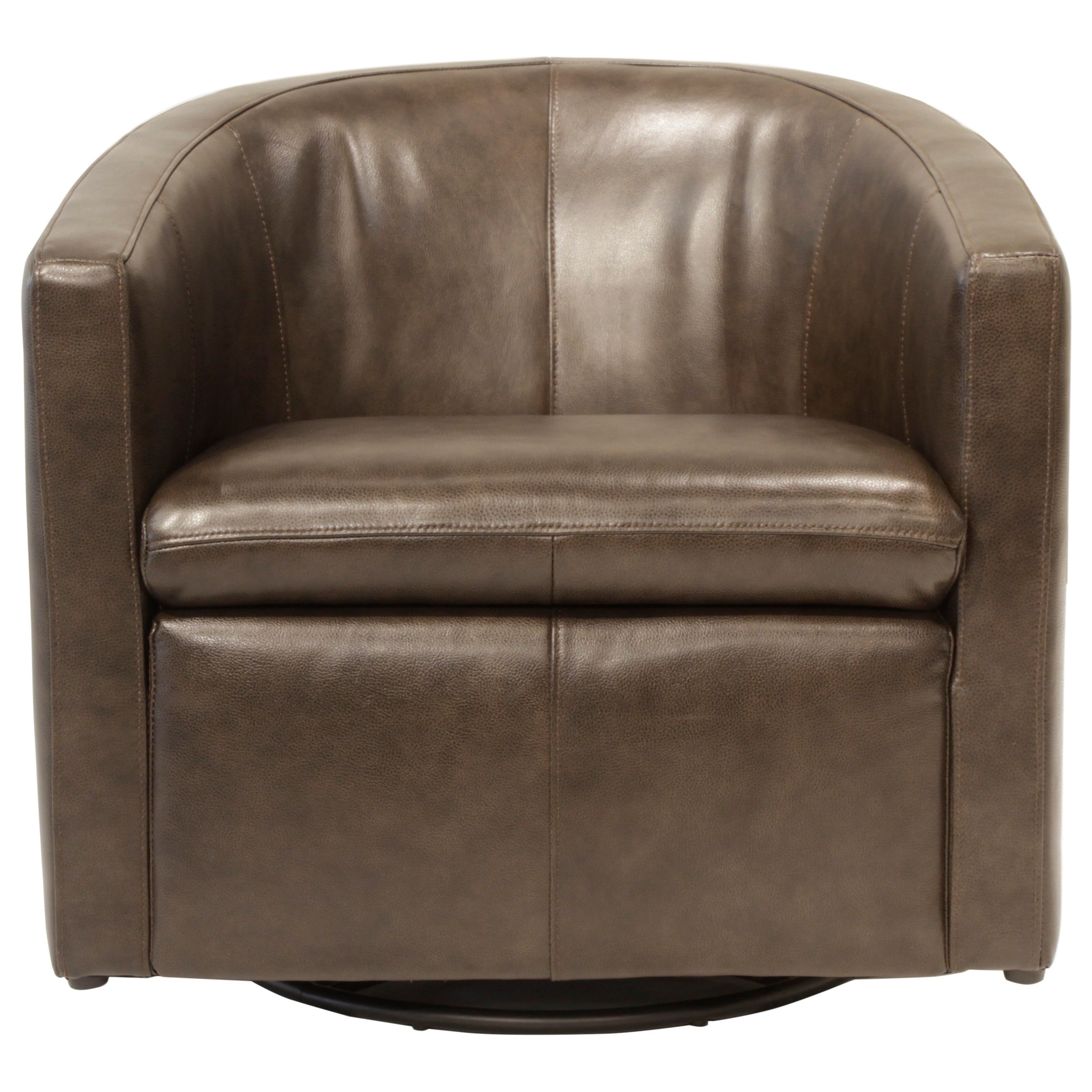 Futura Leather Arcadia Swivel Glider Chair - Item Number: M1393-340-1425S