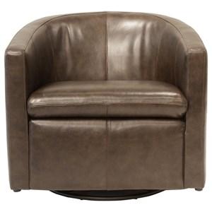 Futura Leather Arcadia Swivel Glider Chair