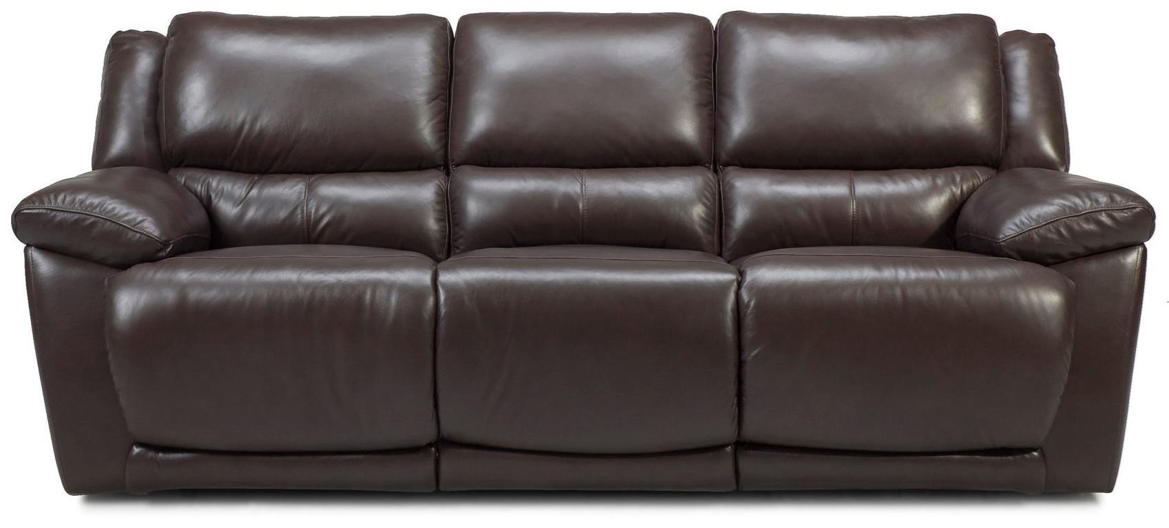 Futura Leather M149 Reclining Sofa - Item Number: M149 Sofa
