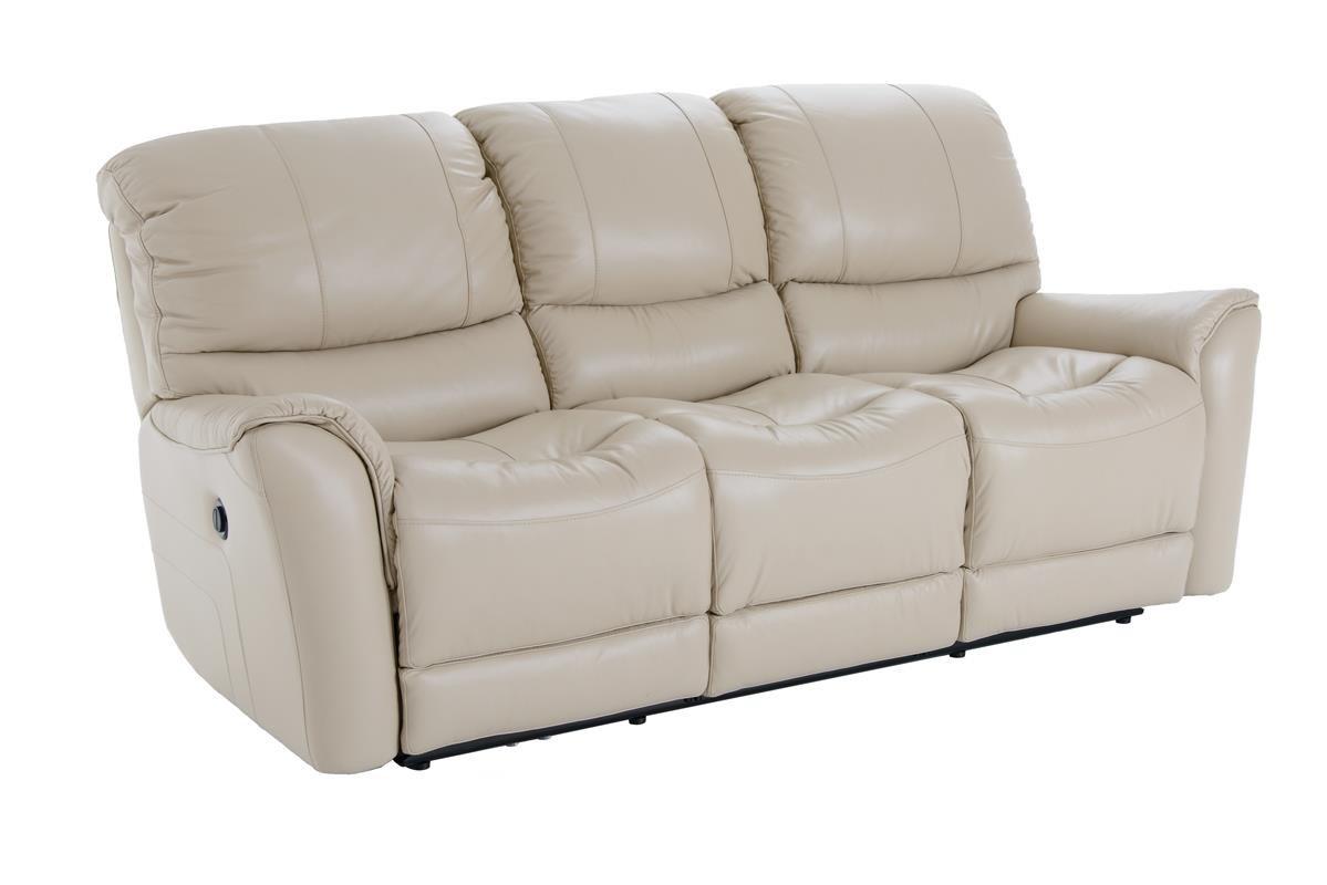 Futura Leather E631 Electric Motion Sofa - Item Number: E631-119 1280H ACACIA