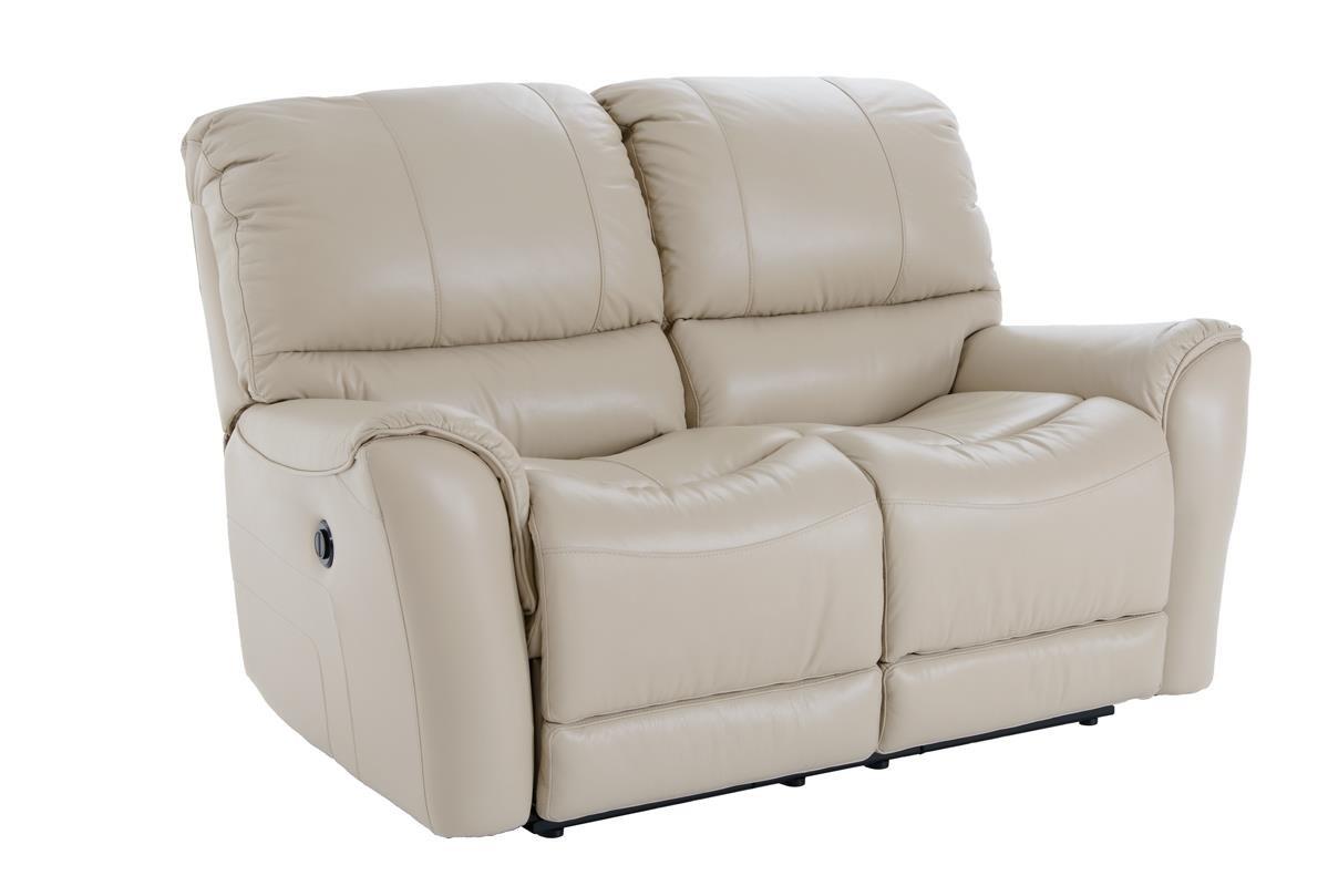 Futura Leather E631 Electric Motion Loveseat - Item Number: E631-120 1280H ACACIA