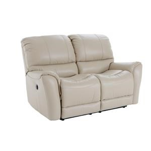 Futura Leather E631 Electric Motion Loveseat