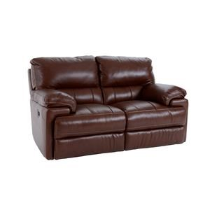 Futura Leather E687 Electric Motion Loveseat