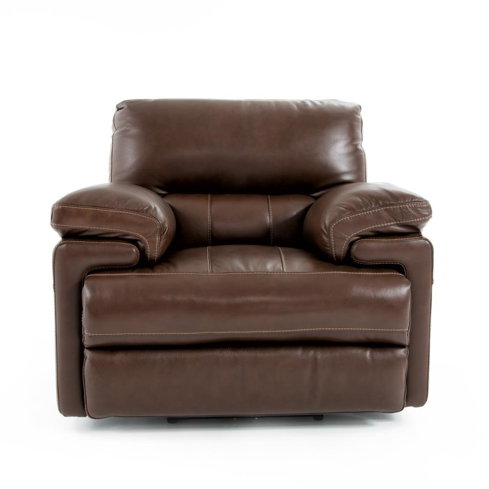 Futura Leather E687 Electric Motion Recliner Chair - Item Number: E687-121 2557H COASTAL