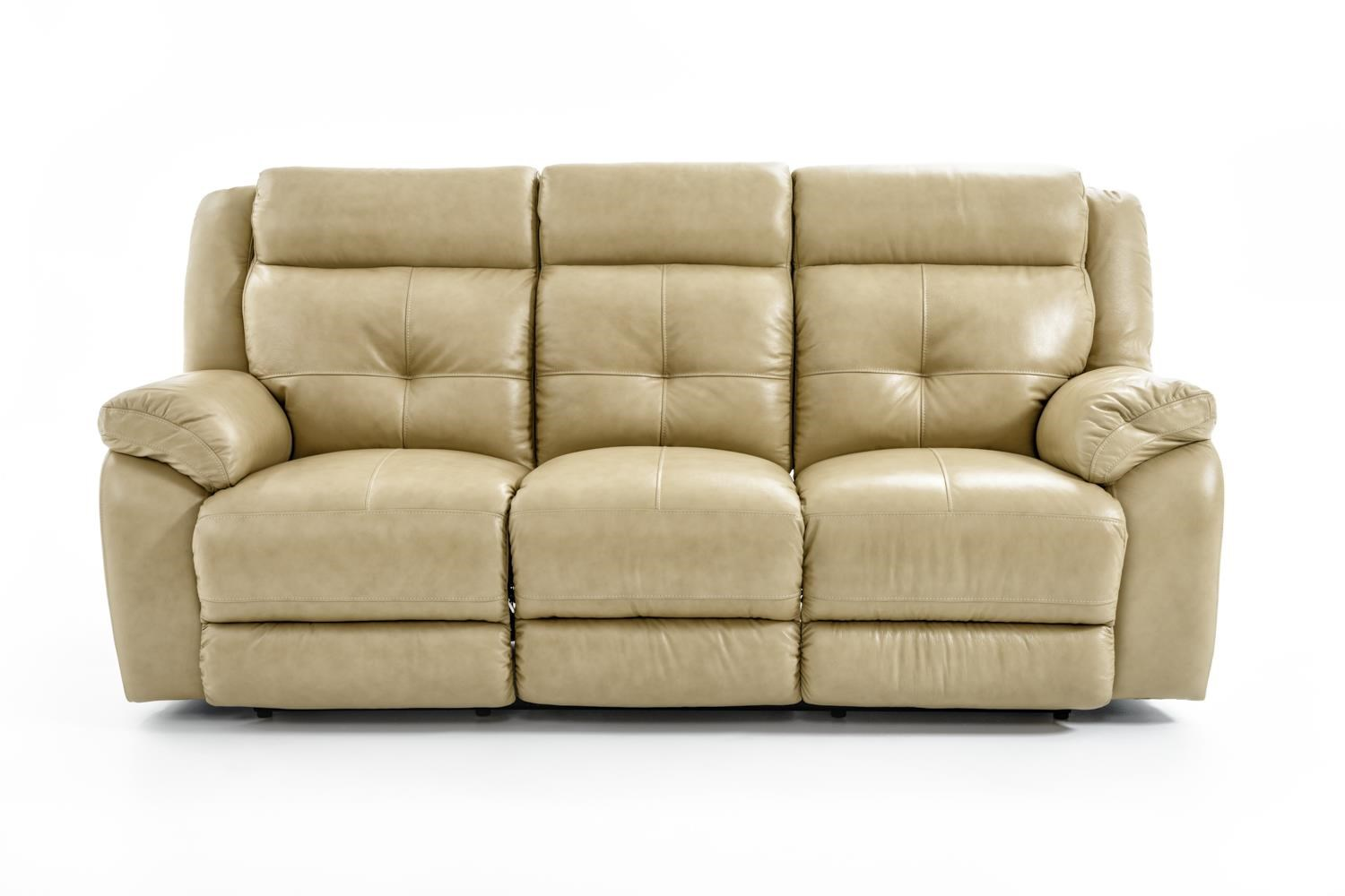 Futura Leather m771 Dual Reclining Sofa - Item Number: M771-83 1288H CHESAPEAKE