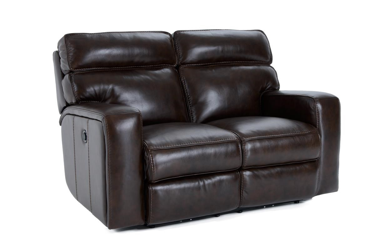 Futura Leather E879 Electric Motion Loveseat - Item Number: E879-120-1509H SANTACRUZ