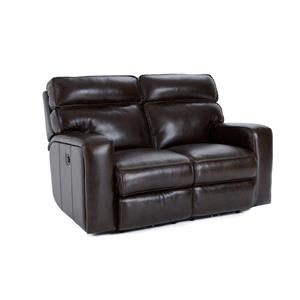 Futura Leather E879 Electric Motion Loveseat