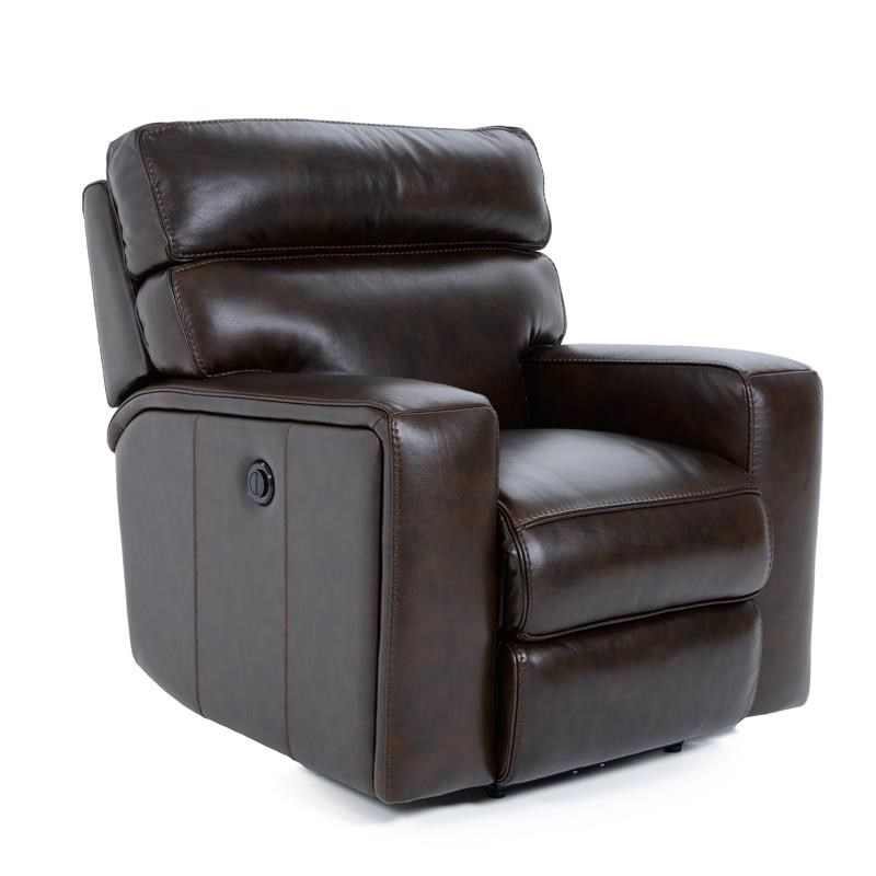 Futura Leather E879 Electric Motion Recliner Chair - Item Number: E879-121-1509H SANTACRUZ