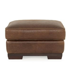 Dante Leather Marquis Leather Ottoman