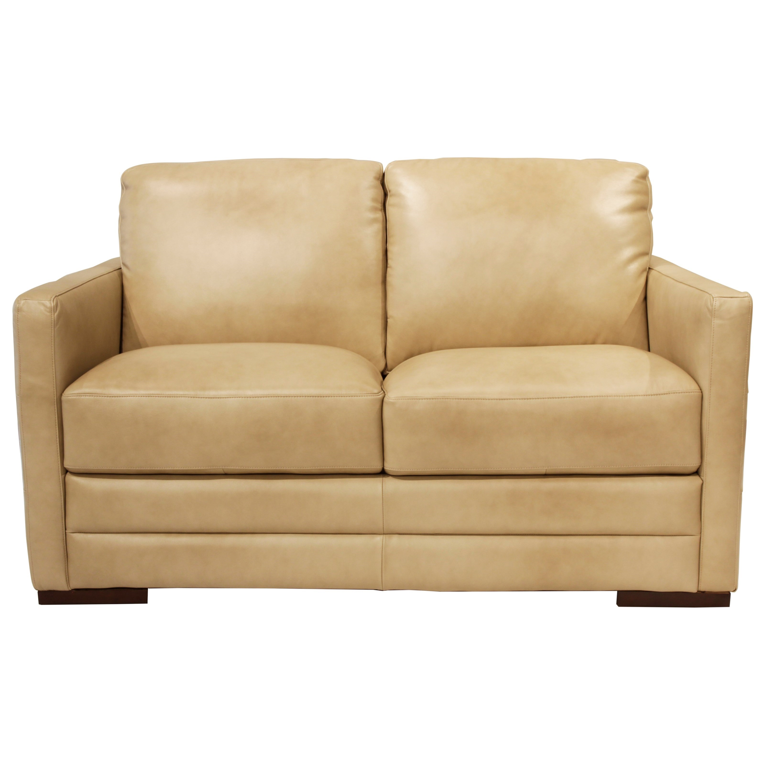 Futura Leather Monica Loveseat Abode Love Seats
