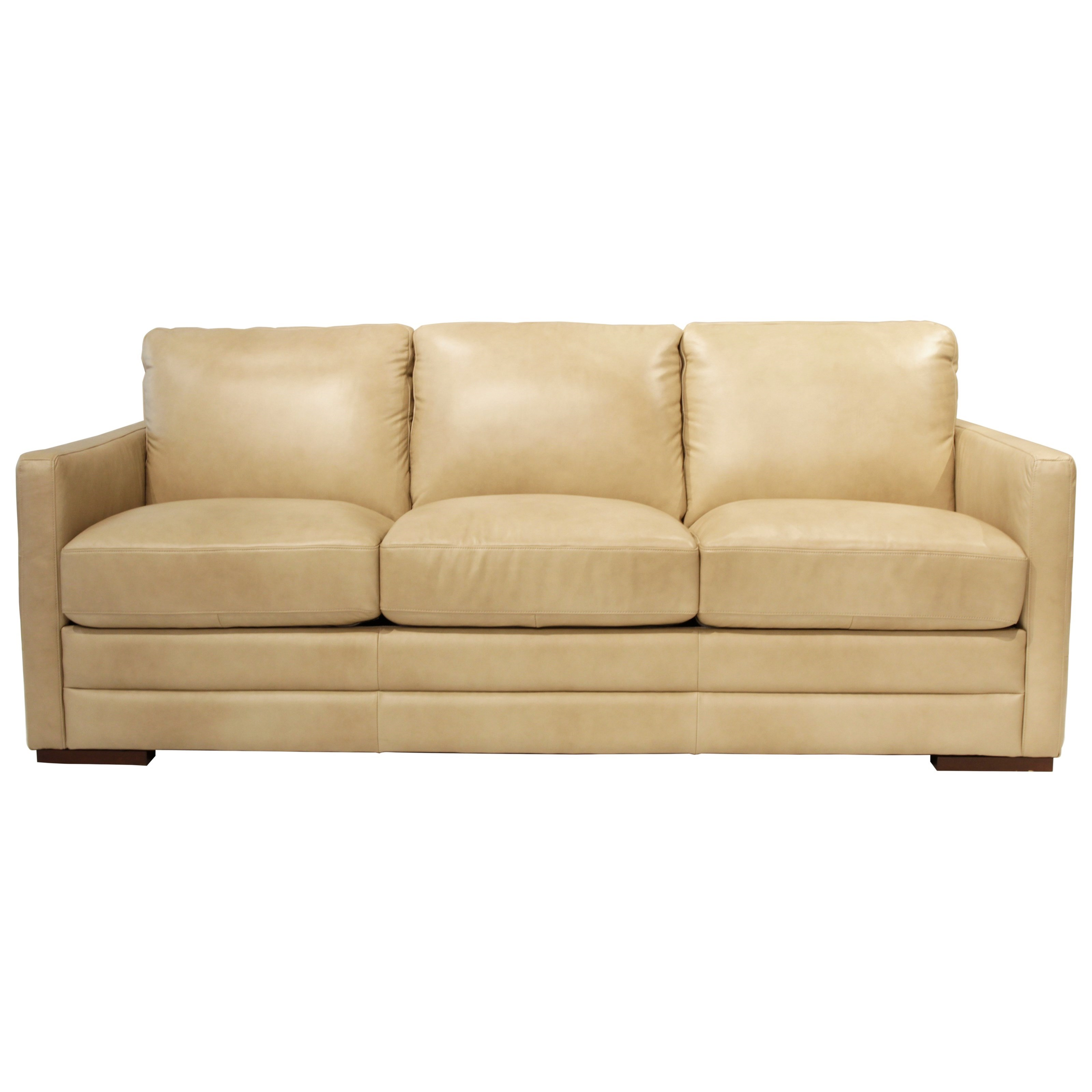 Monica Queen Sofabed by Futura Leather at HomeWorld Furniture