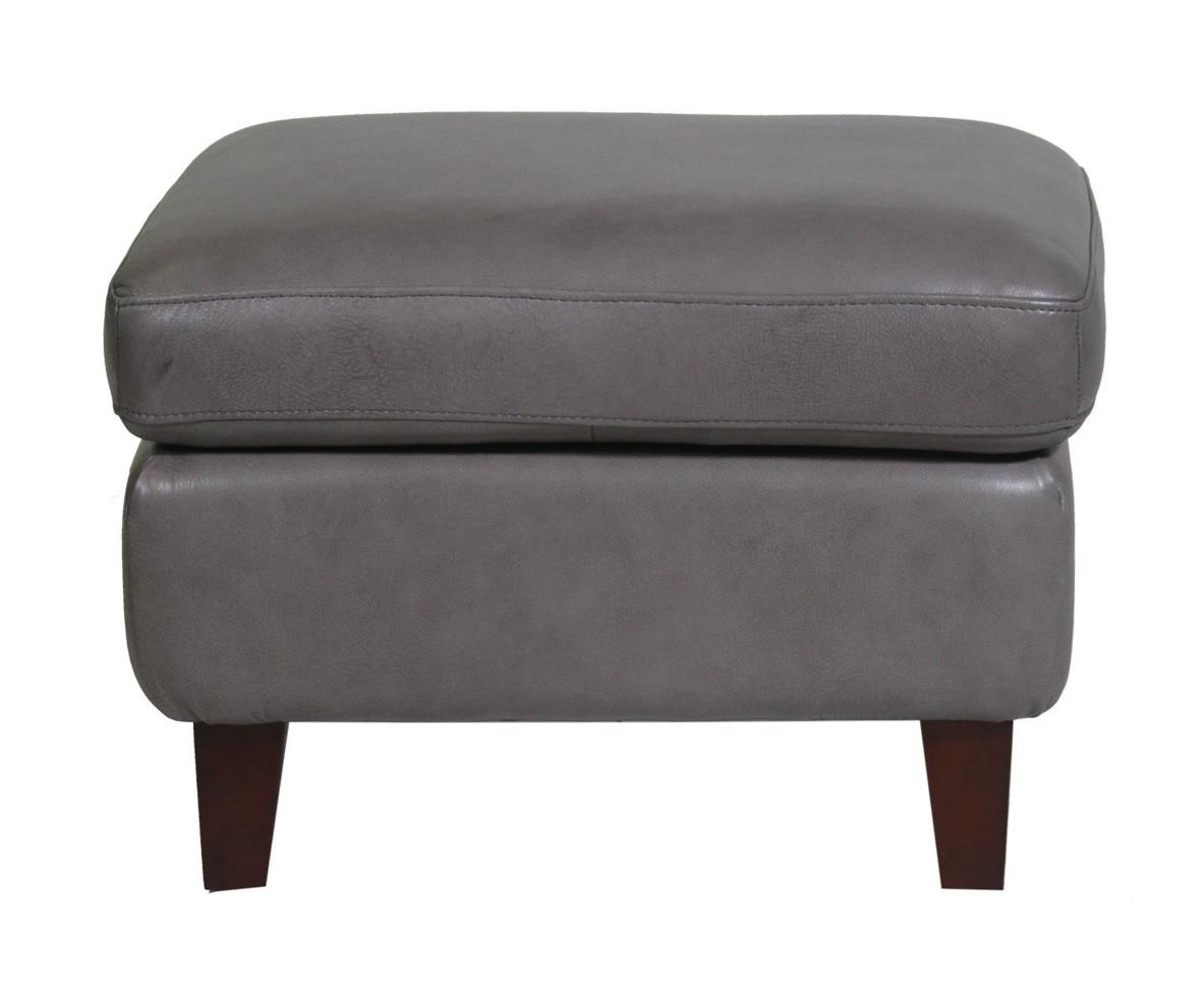 Futura Leather Monroe Ottoman - Item Number: 8645-60