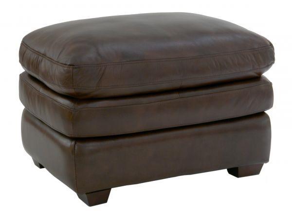 Futura Leather Pasadena Ottoman - Item Number: 7454-60