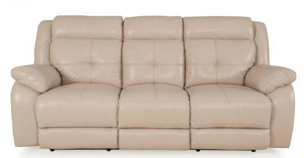 Futura Leather Pebble Power Reclining Sofa - Item Number: E771-119