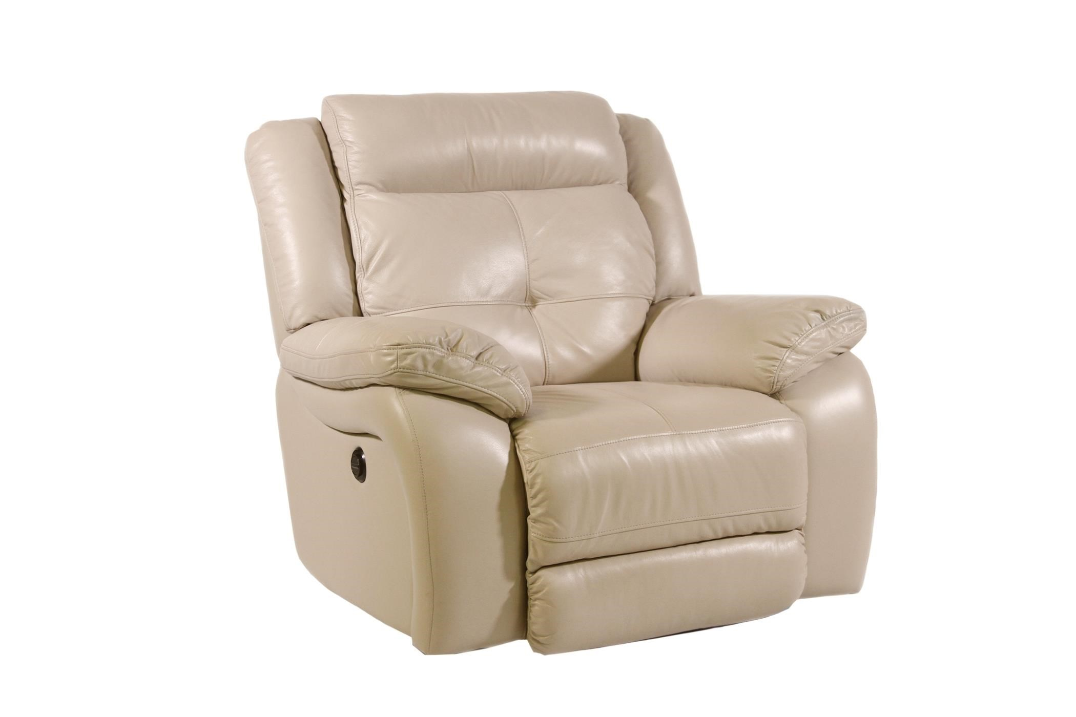 Futura Leather Pebble Power Reclining Chair - Item Number: E771-121