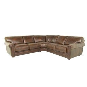 Dante Leather Sprintz Dante Sectional