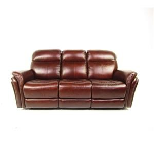 Dante Leather Sprintz Dante Reclining Sofa