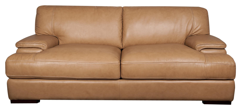 Morris Home Furnishings Titus Titus 100% Leather Sofa - Item Number: 493846762