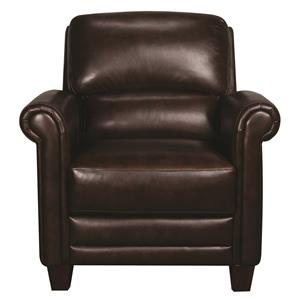 Morris Home Furnishings Victor Victor 100% Leather Chair