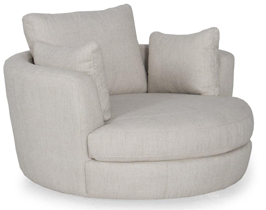 Snugglers Furniture Kitchener Futura Leather W465 Upholstered Snuggler Chair Stoney Creek