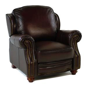Loft Leather Wallingford Traditional Leather Push-Back Recliner