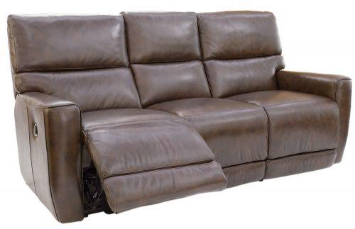 Futura Leather Winfield Power Reclining Sofa - Item Number: E983-119
