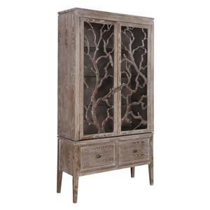 Gail's Accents Accents Ivey Washed Oak Cabinet